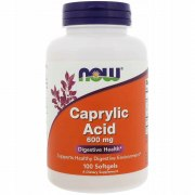 NOW Caprylic Acid 600 мг 100 капс
