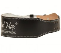 MadMax Пояс Full Leather Belt MFB245\BK