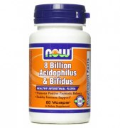 NOW 8 Billion Acidoph/Bifidus 60 вег капс