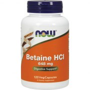 NOW Betaine 648 мг 120 вег капс